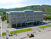 The State Assembly of the Altai Republic in Gorno-Altaysk