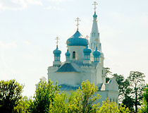 Orthodox church in Altai Republic