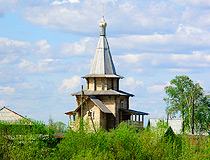 Arhangelsk wooden church