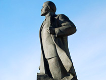 Lenin monument in Arkhangelsk