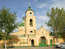 Church of St. John Chrysostom in Astrakhan