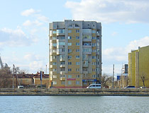 Apartment building in Astrakhan