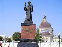 Monument to St. Joasaph of Belgorod