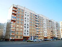 Typical 9-story residential building in Belgorod