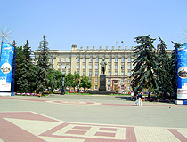 Sobornaya Square - the main square of Belgorod