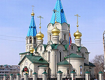 Church in Blagoveshchensk  city