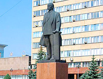 Lenin monument in Bryansk