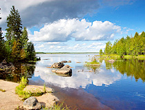 Karelia republic nature view