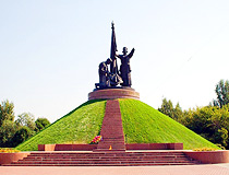 World War II memorial in Cheboksary