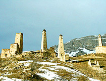 Old stone towers of Chechnya