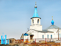 Orthodox church in Chelyabinsk region