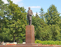 Lenin monument in Cherepovets