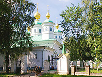 Cathedral of the Resurrection Monastery in Cherepovets