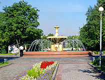 Cherepovets fountain