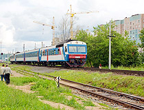 Local train in Chuvashia