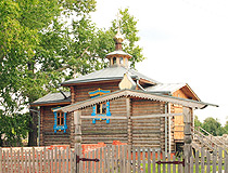 Dzerzhinsk wooden church