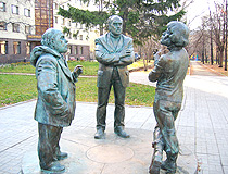 Ekaterinburg townspeople talk