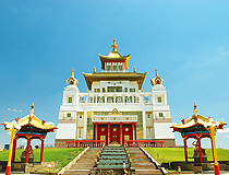 The Golden Abode of the Buddha Shakyamuni in Elista