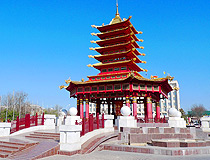 The Pagoda of Seven Days in Elista