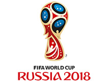 Logotype of World Cup 2018 in Russia