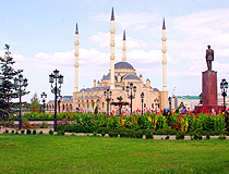Grozny central mosque