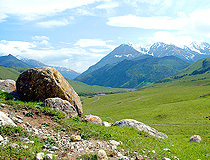 In the mountainous part of Ingushetia