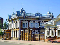 Irkutsk wooden houses