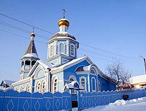 Church in the Irkutsk region