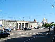 In the central part of Kaliningrad