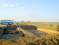 Archaeological excavations in Kalmykia