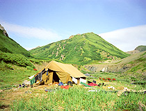 Camping in Kamchatka