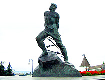 Musa Jalil monument in Kazan