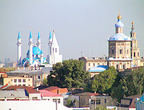 Kul Sharif Mosque and Peter and Paul Cathedral