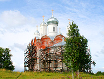 Kirov region church view