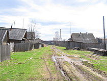 Village life in Kirovskaya oblast