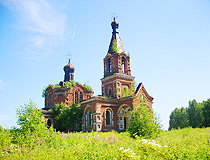 Abandoned church in Kirov oblast