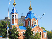 Cathedral of Our Lady of Kazan in Komsomolsk-on-Amur