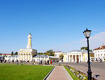 Susanin Square - the central square in Kostroma
