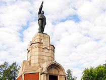 Lenin monument in Kostroma