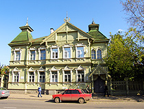 Wooden house in Kostroma