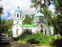 Church in Kurgan city