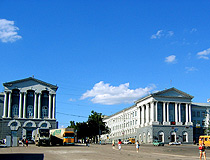Krasnaya Square in Kursk
