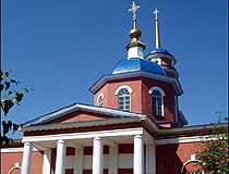 Church of Archangel Michael in Kursk