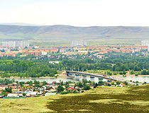 General view of Kyzyl