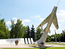 The Monument to the Heroes Aviators in Lipetsk
