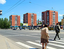 Apartment buildings in Lipetsk