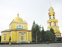 Cathedral of the Nativity of Christ in Lipetsk