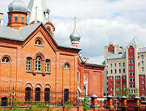 Church of St. Nicholas the Wonderworker (1890) in Lipetsk