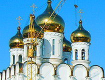 Holy Trinity Cathedral in Magadan