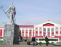 Magnitogorsk railway station